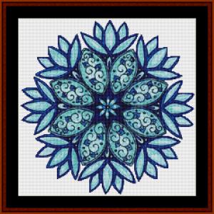 Mandala 22 (Small) cross stitch pattern by Cross Stitch Collectibles | Crafting | Cross-Stitch | Other