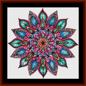 Mandala 23 (Small) cross stitch pattern by Cross Stitch Collectibles | Crafting | Cross-Stitch | Other