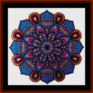 Mandala 25 (Small) cross stitch pattern by Cross Stitch Collectibles   Crafting   Cross-Stitch   Other