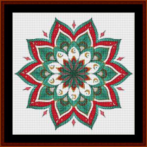 Mandala 26 (Small) cross stitch pattern by Cross Stitch Collectibles | Crafting | Cross-Stitch | Other