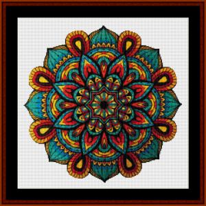 Mandala 27 (Small) cross stitch pattern by Cross Stitch Collectibles | Crafting | Cross-Stitch | Other