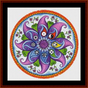 Mandala 28 (Small) cross stitch pattern by Cross Stitch Collectibles | Crafting | Cross-Stitch | Other