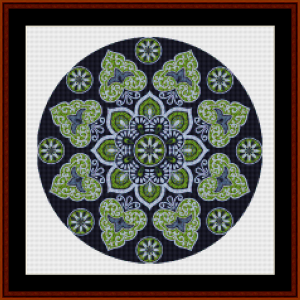 Mandala 29 (Small) cross stitch pattern by Cross Stitch Collectibles   Crafting   Cross-Stitch   Other