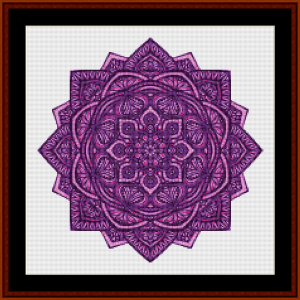 Mandala 30 (Small) cross stitch pattern by Cross Stitch Collectibles   Crafting   Cross-Stitch   Other