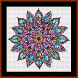 Mandala 31 (Small) cross stitch pattern by Cross Stitch Collectibles | Crafting | Cross-Stitch | Other