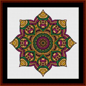 Mandala 32 (Small) cross stitch pattern by Cross Stitch Collectibles   Crafting   Cross-Stitch   Other
