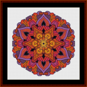 Mandala 33 (Small) cross stitch pattern by Cross Stitch Collectibles | Crafting | Cross-Stitch | Other