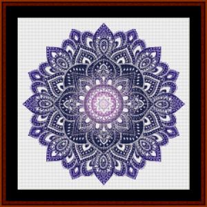 Mandala 35 (Small) cross stitch pattern by Cross Stitch Collectibles | Crafting | Cross-Stitch | Other