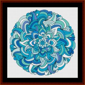 Mandala 36 (Small) cross stitch pattern by Cross Stitch Collectibles | Crafting | Cross-Stitch | Other