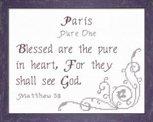 name blessings - paris