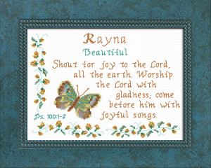 name blessings - rayna