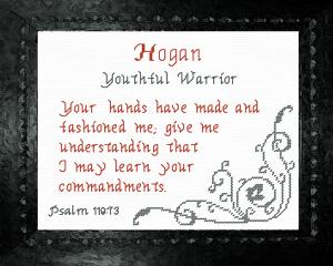 name blessings - hogan