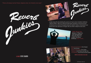 reverb junkies | Movies and Videos | Documentary