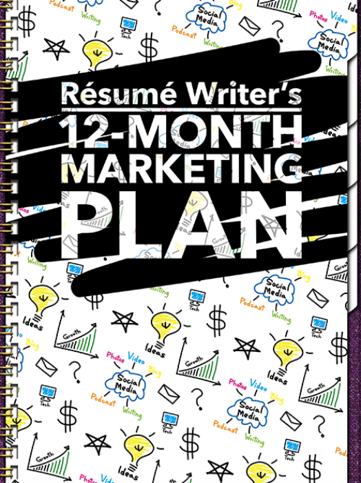 First Additional product image for - Resume Writer's 12-Month Marketing Plan