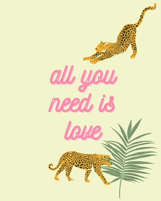 First Additional product image for - Leopard Prints & Love