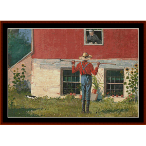 Rustic Courtship – Winslow Homer cross stitch pattern by Cross Stitch Collectibles | Crafting | Cross-Stitch | Other