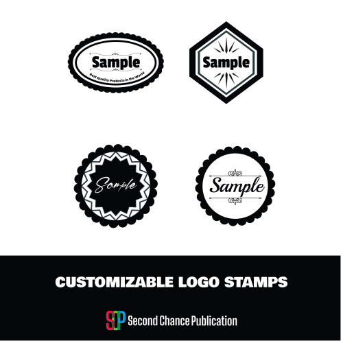 First Additional product image for - Customizable Logo stamps