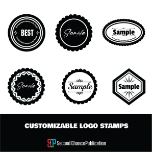customizable logo stamps