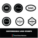 Customizable Logo stamps | Other Files | Graphics