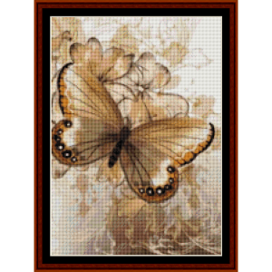 fractal 399 (small) cross stitch pattern by cross stitch collectibles