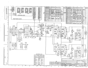 fanuc dc servo unit m series dual axis a06b-6047-h20x (full schematic circuit diagram)