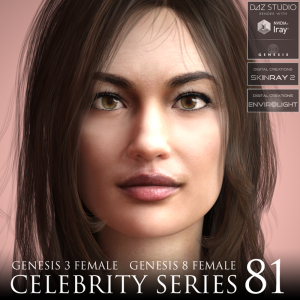 Celebrity Series 81 for Genesis 3 and Genesis 8 Female | Software | Design