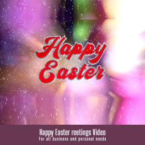 Happy Easter greetings Video | Other Files | Graphics