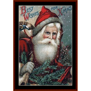 Best Wishes for Xmas cross stitch pattern by Cross Stitch Collectibles | Crafting | Cross-Stitch | Other