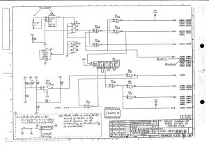 fanuc 10m/t master board a16b-1010-0040, 0041 (full schematic circuit diagram)
