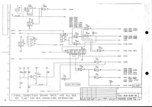 fanuc 10m/t master board a16b-1010-0190 (full schematic circuit diagram)