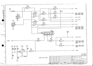 fanuc 10m/t master board a16b-1010-0320 (full schematic circuit diagram)