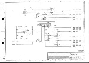 fanuc 11m/t master board a16b-1010-0330 (full schematic circuit diagram)