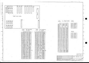 fanuc 11m/t master board a16b-1010-0050 (full schematic circuit diagram)
