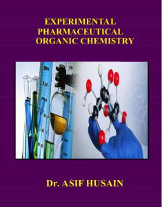 Experimental Pharmaceutical Organic Chemistry | eBooks | Science