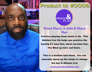 Practice Track #0006 - Shout Music (Cycle 6's) | Music | Gospel and Spiritual