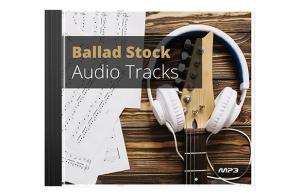 ballad stock audio tracks-mrr
