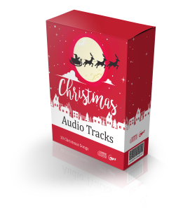 christmas audio tracks - plr