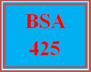 bsa 425 wk 5 - practice: post-mortems