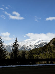 mountain in ross lake national recreation area