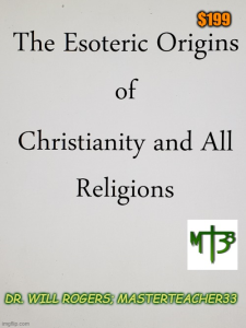 origins of christianity and all religions book and audio series