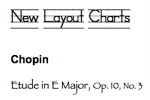 chopin: etude op. 10, no. 3