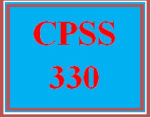 CPSS 330 Wk 4 - Ethical Dilemma Presentation   eBooks   Education