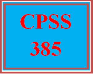 CPSS 385 Wk 4 Team - Case Management Models Presentation | eBooks | Education