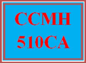 CCMH 510CA Wk 2 Discussion - Individual Characteristics   eBooks   Education