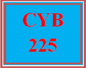 CYB 225 All Discussions   eBooks   Education