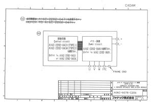 fanuc a06b-6078-h206 alpha spm-5.5 (full schematic circuit diagram)