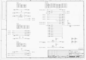 fanuc alpha i psm a16b-2100-0762 to 0763 (full schematic circuit diagram)