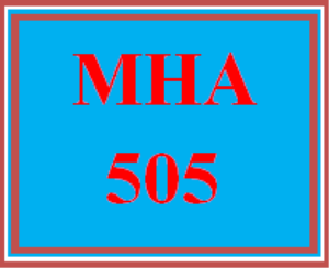 MHA 505 All Discussions | eBooks | Education