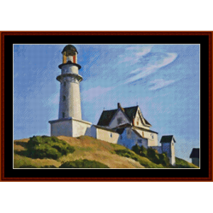 Lighthouse at Two Lights | Crafting | Cross-Stitch | Other