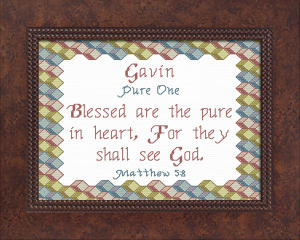 Name Blessings - Gavin 3   Crafting   Cross-Stitch   Other